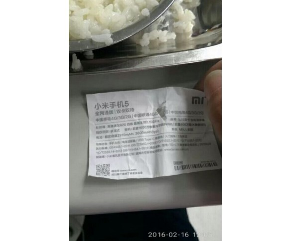 Xiaomi Mi 5 spesifikasi