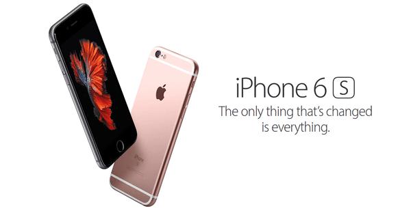Gambar iPhone 6s Hero