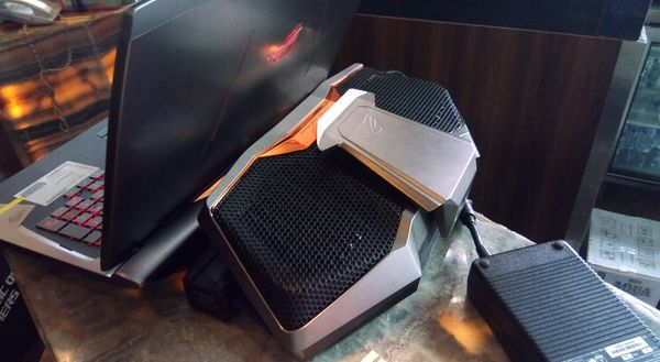Gambar ASUS ROG GX700 Sistem Pendingin