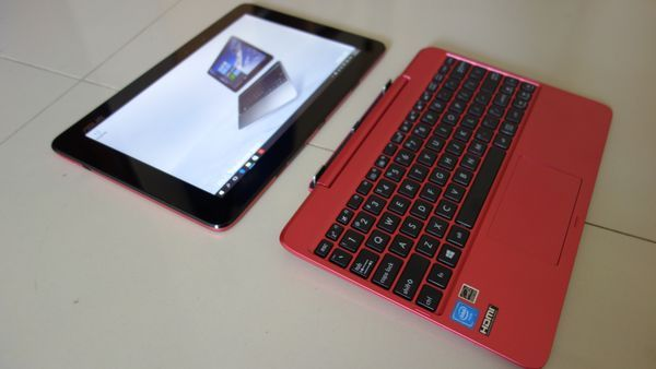 Gambar ASUS T100HA Review Detach