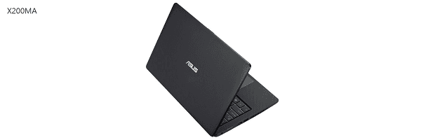 Gambar laptop ASUS RAM 4GB X200MA