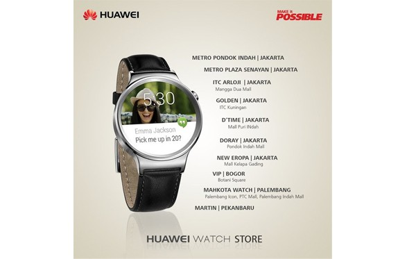 Huawei Watch Store Indonesia