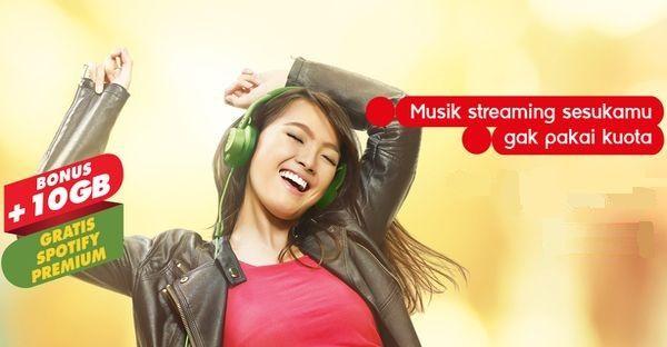 Gambar Indosat ooredoo Freedom Combo Spotify
