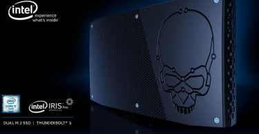 Gambar Intel NUC Skull Canyon Header