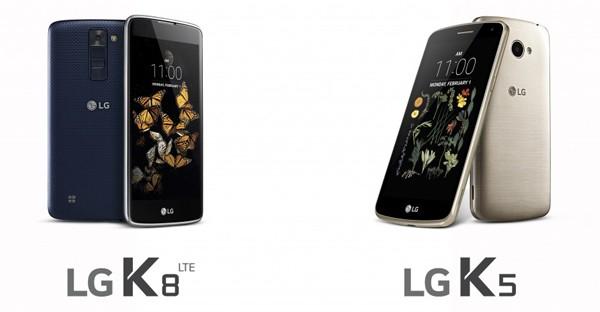 LG K5 K8