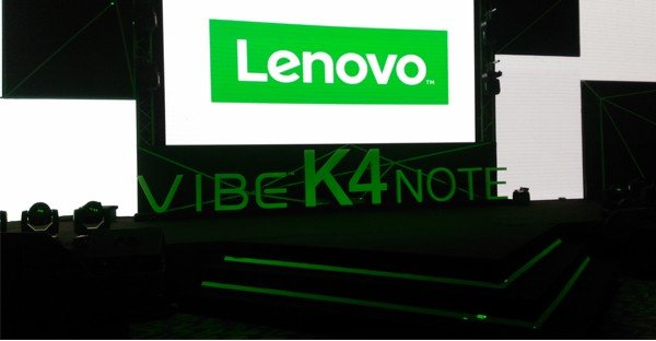 Lenovo K4 Note header
