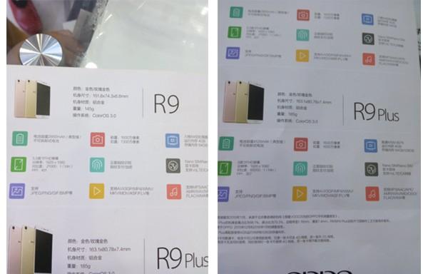 Oppo R9 Spesifikasi Hardware