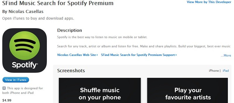 Spotify Palsu