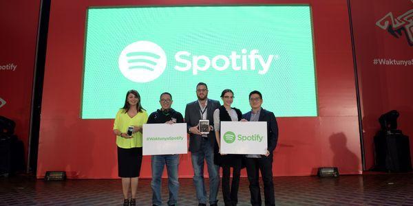 Gambar Spotify Rilis di Indonesia Header