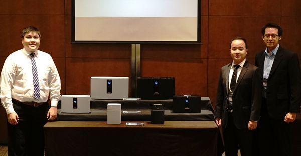 Gambar Tim Bose Mempresentasikan Rangkaian Produk Bose SoundTouch Wireless Systems