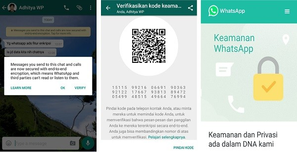 Enkripsi Whatsapp