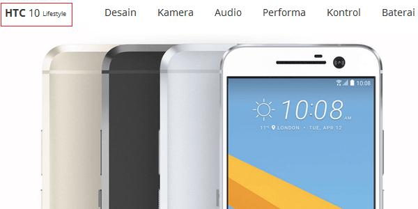 Gambar HTC Lifestyle Indonesia