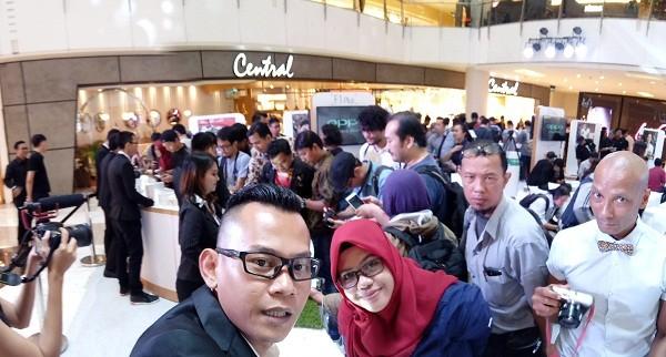 Hasil foto selfie panorama OPPO F1 Plus