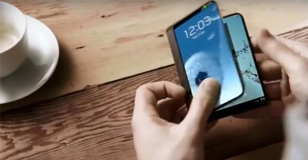 Layar Samsung Lipat