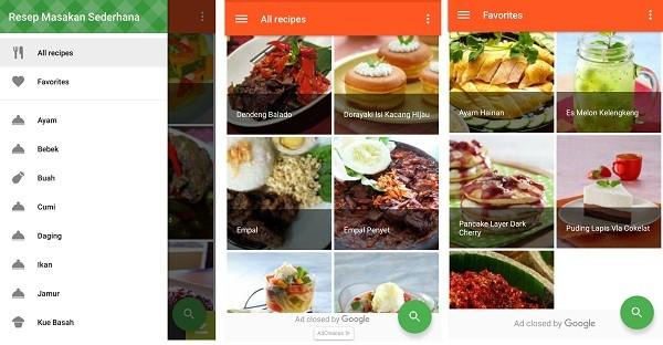Resep Masakan Sederhana (1)