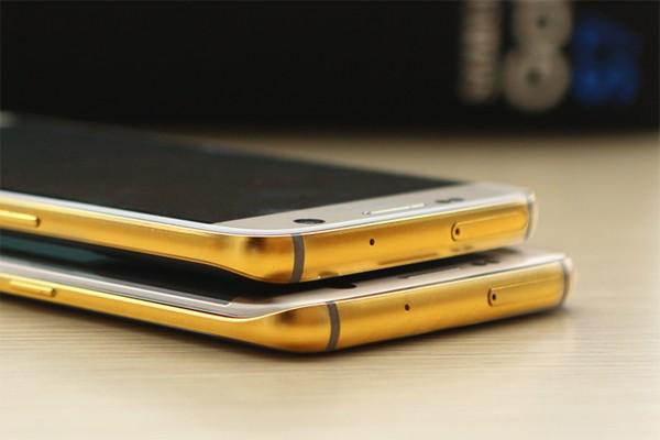 Samsung Galaxy S7 Plat Emas