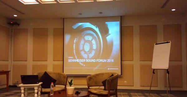 Gambar Sennhaiser Sound Forum 2016