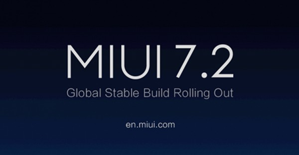 Xiaomi MIUI 7 2 Global Stable