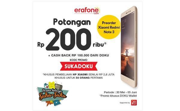 Harga Resmi Redmi Note 3 di Indonesia