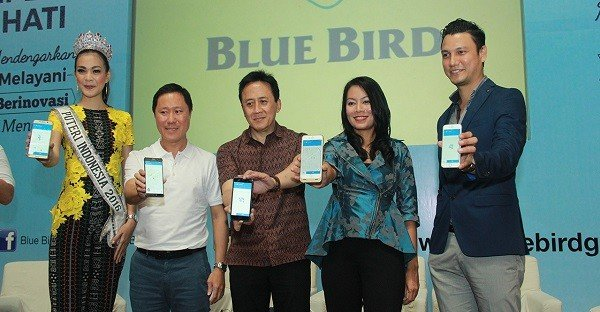Launching Aplikasi My Blue Bird