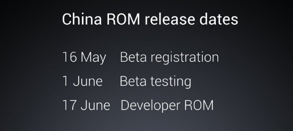 MIUI 8 China ROM Developer
