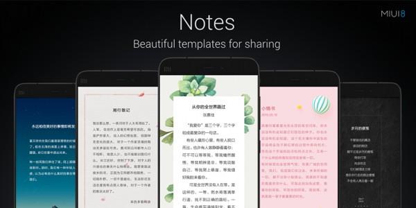 MIUI 8 Notes