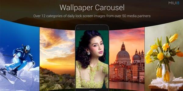 MIUI 8 Wallpaper Carousel