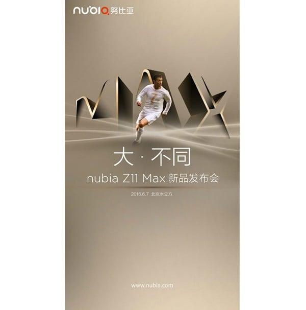 Nubia Z11 Max Cristiano Ronaldo Edition