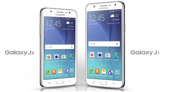Gambar Samsung Galaxy J5 dan Galaxy J7