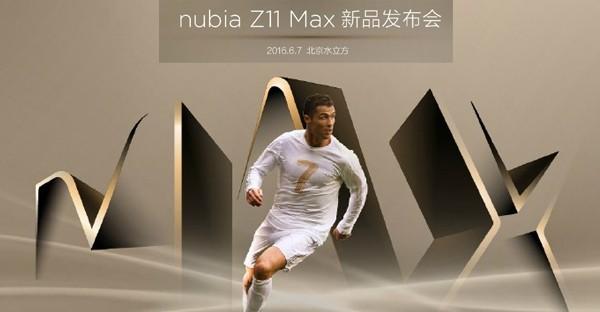 Smartphone Nubia Z11 Max Cristiano Ronaldo Edition