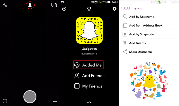 Gambar Snapchat Add Friend