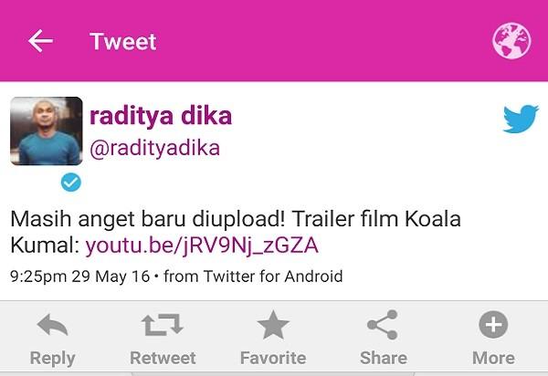 Twit Raditya Dika