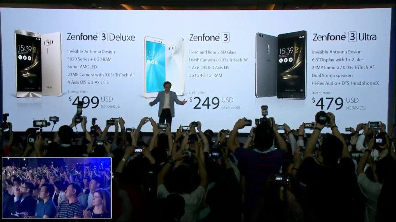 Zenfone 3 Deluxe harga