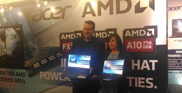 AMD Acer Aspire E5 Generasi 7