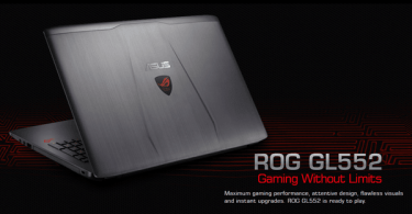 Gambar ASUS ROG GL552VX Header