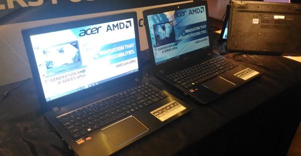 Acer Aspire E5 AMD APU generasi 7