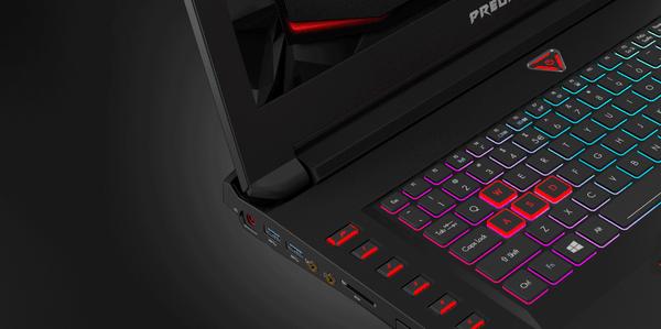 Gambar Acer Predator 17X Keyboard