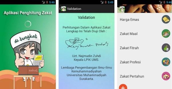 Aplikasi Hitung Zakat