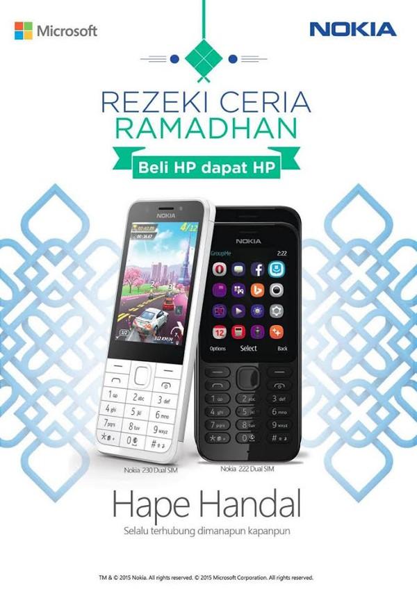 Microsoft Rezeki Ceria Ramadhan HP