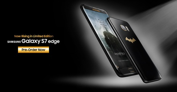 Pre order Samsung Galaxy S7 Edge Injustice Edition Batman