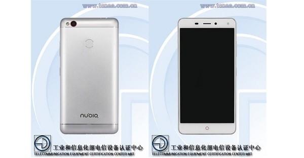 ZTE Nubia NX541j leak