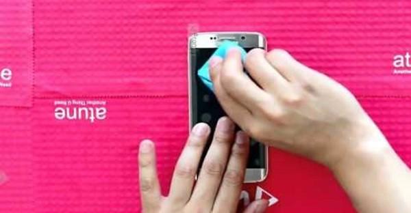 Layar smartphone tergores-header
