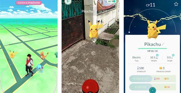 Pikachu Awal Pokemon GO