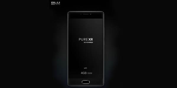 Blu Pure XR iklan