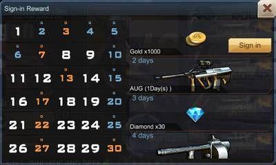 Cara Mendapatkan Diamond Honor Crisis Action Daily