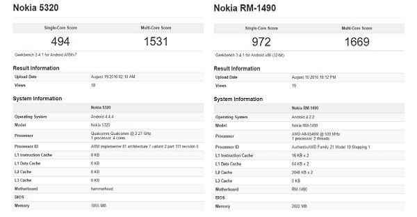 Dua Android Nokia-Leak GeekBench-header