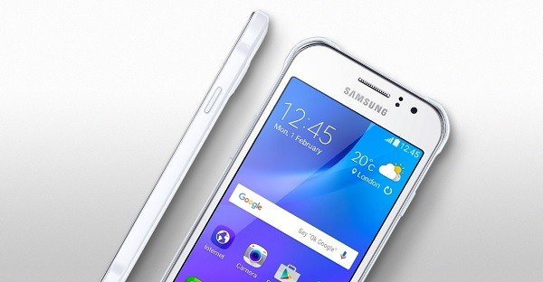 Galaxy J1 Ace VE header