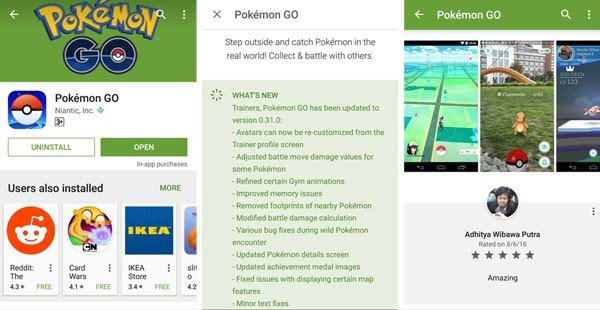 Pokemon GO Resmi Google Play Indonesia