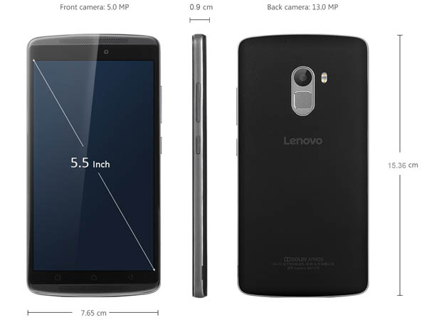 Lenovo X3 Lite Specification