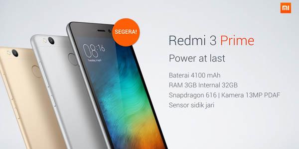 Redmi 3 Prime